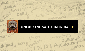 Unlocking Value in India